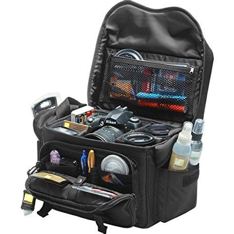 nikon 5874 deluxe digital slr gadget bag for dslr d3 d3x d3s ebay