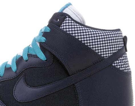 Nike Gingham Dunks From Outfitters by Nike Dunk High Obsidian Gingham Jd Sports
