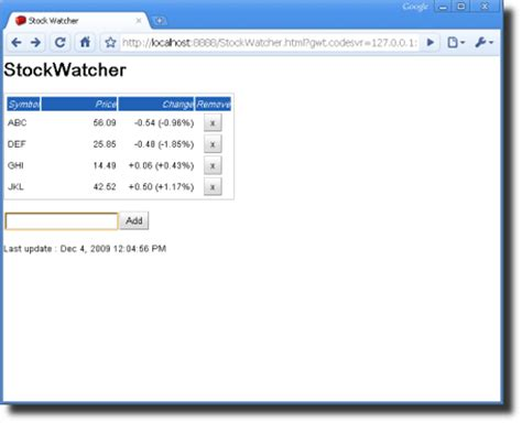 tutorial google web toolkit gwt project
