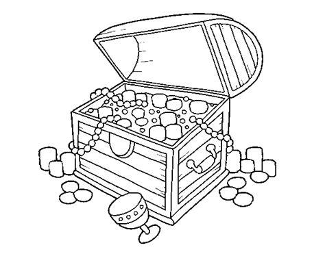 treasure chest coloring page coloringcrew com