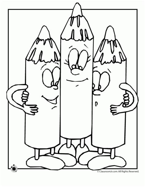 Crayons coloring pages printable coloring pages gallery