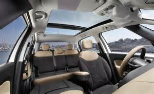 Fiat 500 Lounge Interior Car And Driver