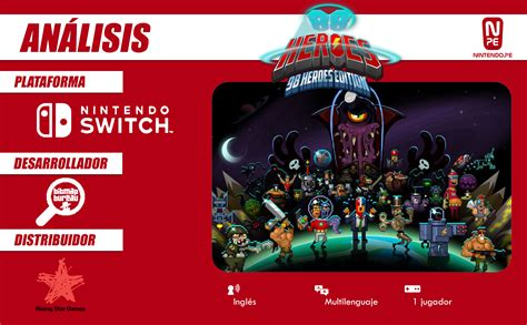 88 Heroes Switch 88 heroes 98 heroes edition nintendo switch an 225 lisis