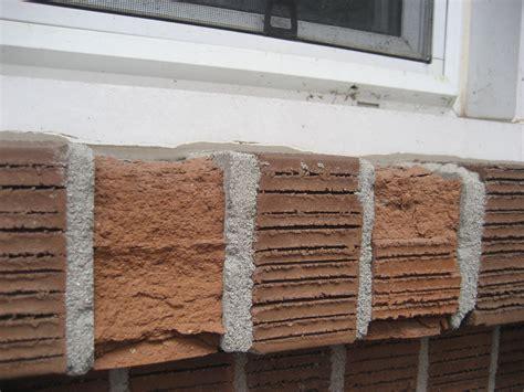 Masonry Window Sill Spalled Brick An Window Sill