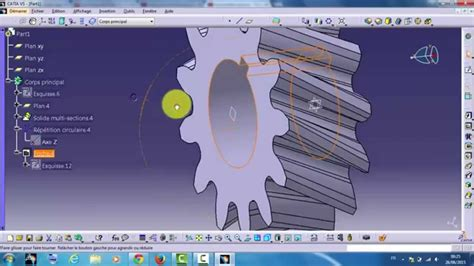 tutorial video catia v5 tutorial catia v5 h 233 lico 239 dale youtube