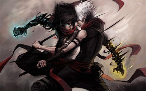 ninja warrior on the l hd desktop wallpaper anime warrior wallpaper 183