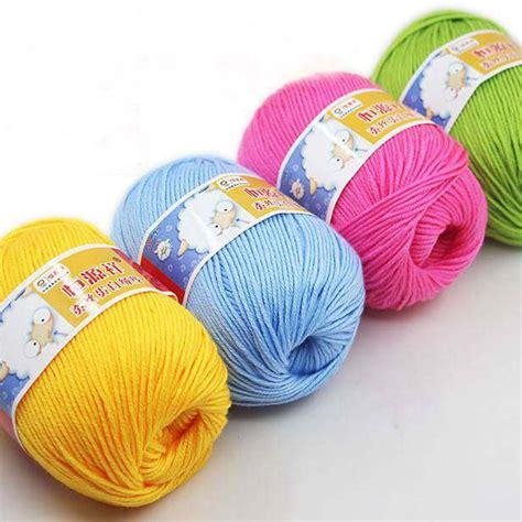 aliexpress yarn aliexpress com buy 50g ball knitting yarn natural soft