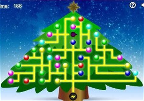 highfly media online games light up the christmas tree