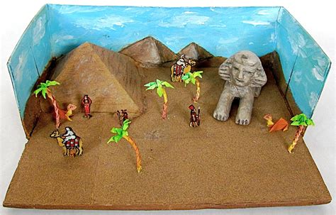 Ancient Egypt Diorama Project   best photos of pyramid diorama book report how to make a