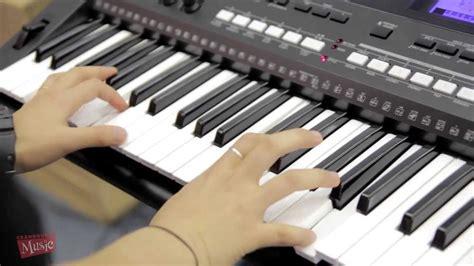 Keyboard Yamaha E433 yamaha psr e433 demonstration