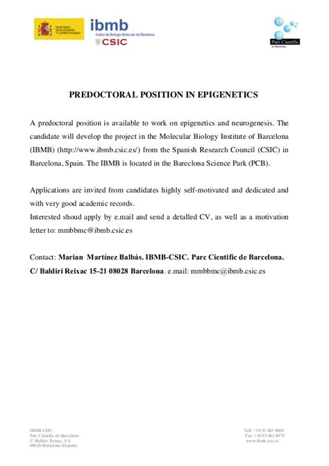 cover letter phd position cover letter for phd application in biological sciences