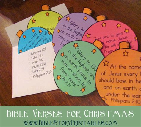the truth about christmas decorations with bible verses bible verse ornaments envelope for scripture memorization in december www