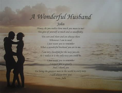 poems for a wonderful husband poems memorial poems