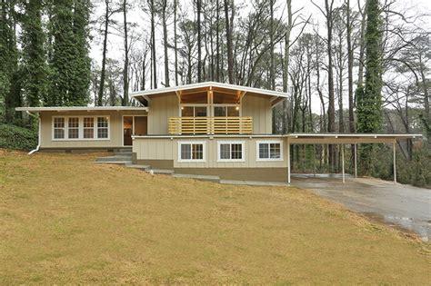 mid century modern atlanta home domorealty