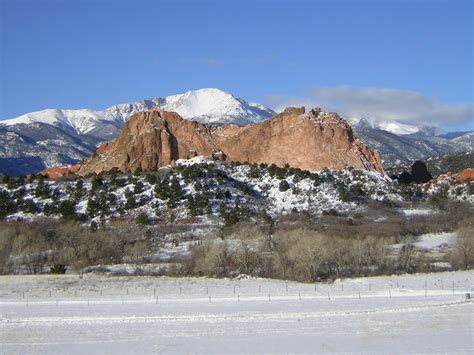 Pikes Peak Gardens by Panoramio Photo Of Pikes Peak And Garden Of The Gods