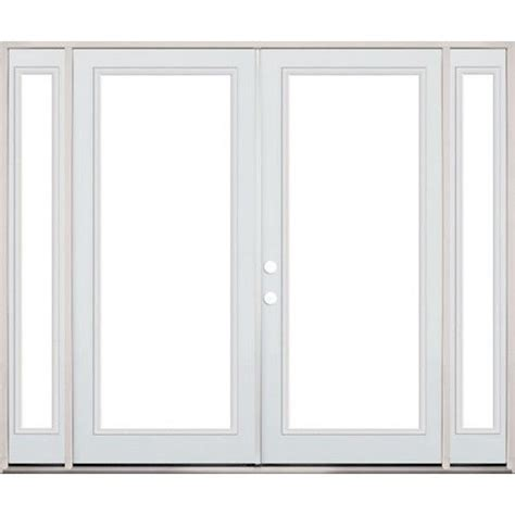 patio doors with sidelites doors patio and steel on