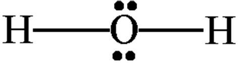 lewis diagram for h2o h2o lewis and 3 d structure dr sundin uw platteville
