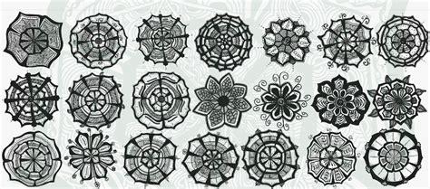 doodle flower patterns kreatief designs