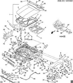 oldsmobile alero what is the part number for the front air