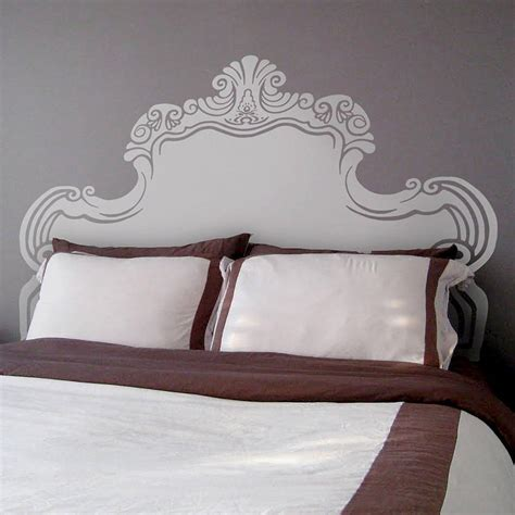 Vintage Bed by Vintage Bed Headboard Wall Sticker By Oakdene Designs