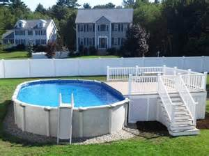 Pool Decks Above Ground Pictures » Ideas Home Design