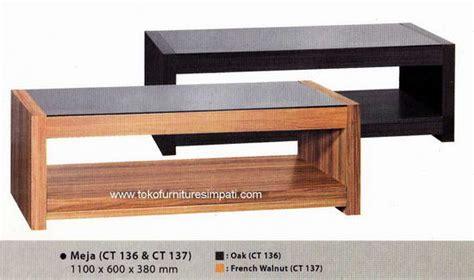 Meja Ruang Tamu Ct 132 Ct 133 By Series meja tamu coffe table meja sofa