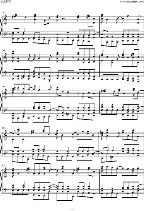 Wedding Bell Gtp by Daybreaks Bell钢琴谱 找歌谱网