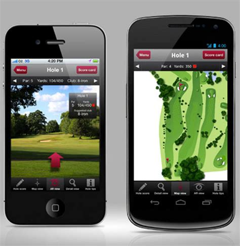 new golf apps releases in 2012 for iphone and android sports