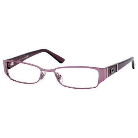 gucci eyewear gucci gg2910 eyeglasses pink purple frame