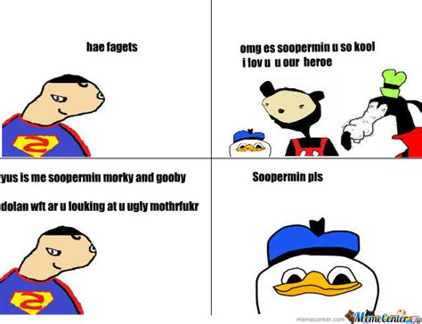 morky gooby and dolan meet soopermin by basedgodswag