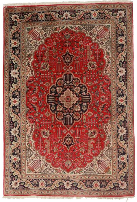 6 by 6 rug tabriz 6x9 wool rug 5264