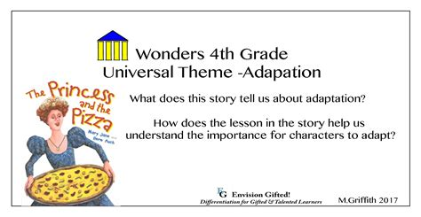 universal themes gifted education lesson adaptations for gifted and talented students gift