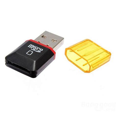 Micro Sd Laptop 2pc usb 2 0 micro sd sdhc tf flash memoria tarjeta lector