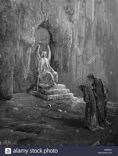Dore S Illustrations For Dante S Comedy engraving by gustave dor 233 from dante alighieri s comedy stock photo royalty free image