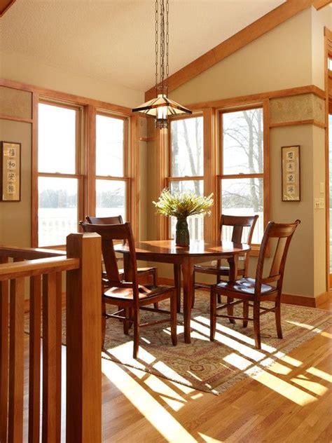 japanese style dining room craftsman interior craftsman