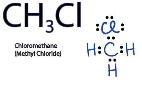 lewis diagram for ch3cl ch3cl lewis structure www pixshark images