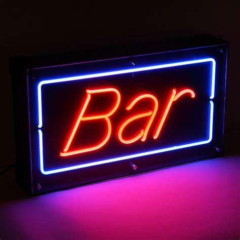 neon bar signs bar neon sign drinkstuff