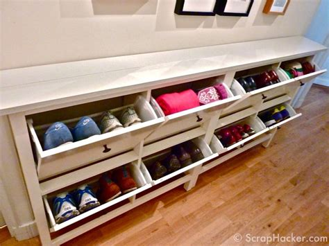 ikea hack shoe storage best 25 narrow shoe rack ideas on hallway