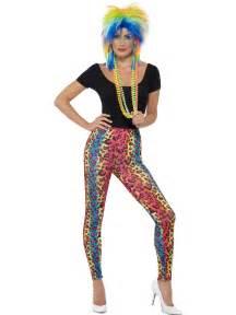 80s neon leopard print leggings 26673 fancy dress ball