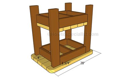 outdoor side table plans outdoor side table plans howtospecialist how to build
