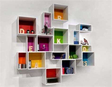 desain rak dinding minimalis termasuk rak buku desainrumahnyacom