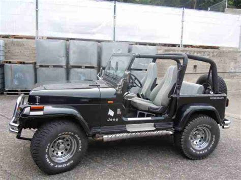 black chrome jeep jeep wrangler yj 2 5l 2 black chrome angebote