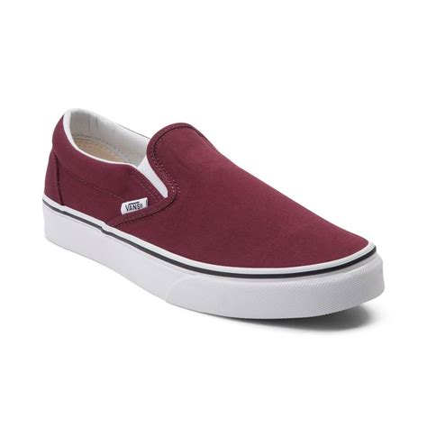 vans house shoes vans slip on skate shoe red 498988