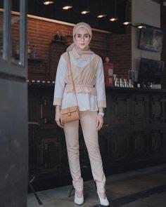Wedges El73 Putih 15 baju remaja berhijab ala selebgram 2018 longpants pallazo cullotes jacket denim biru tua