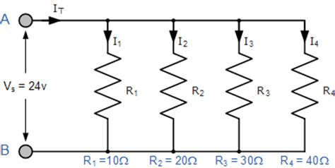three resistors connected in parallel the individual voltages labeled as aqa physics the student room