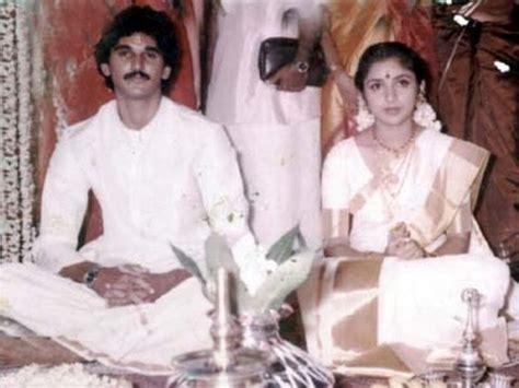 actress ragini karthik sister rathi revathy with her husband suresh menon youtube