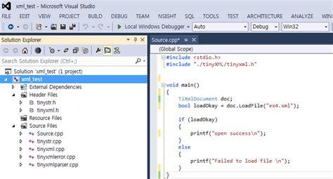 tutorial xml in c c c tinyxml xml read write vntientoi