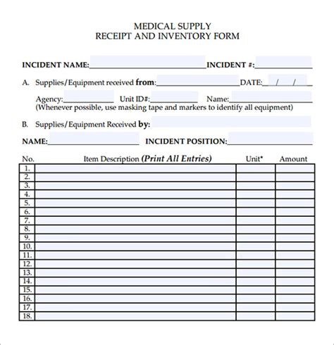 sle medical receipt template 19 free documents in