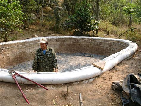 Fourplex Plans earthbag cisterns
