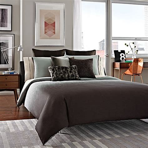 kenneth cole reaction comforter set kenneth cole reaction home hotel king pillow sham in